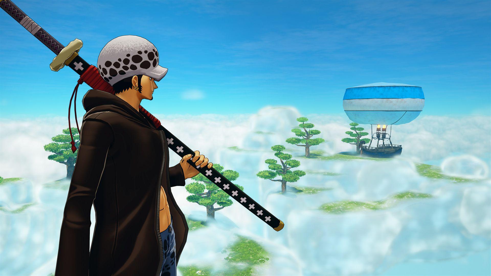 《海贼王:世界探索者》DLC#3未完成地图截图公布