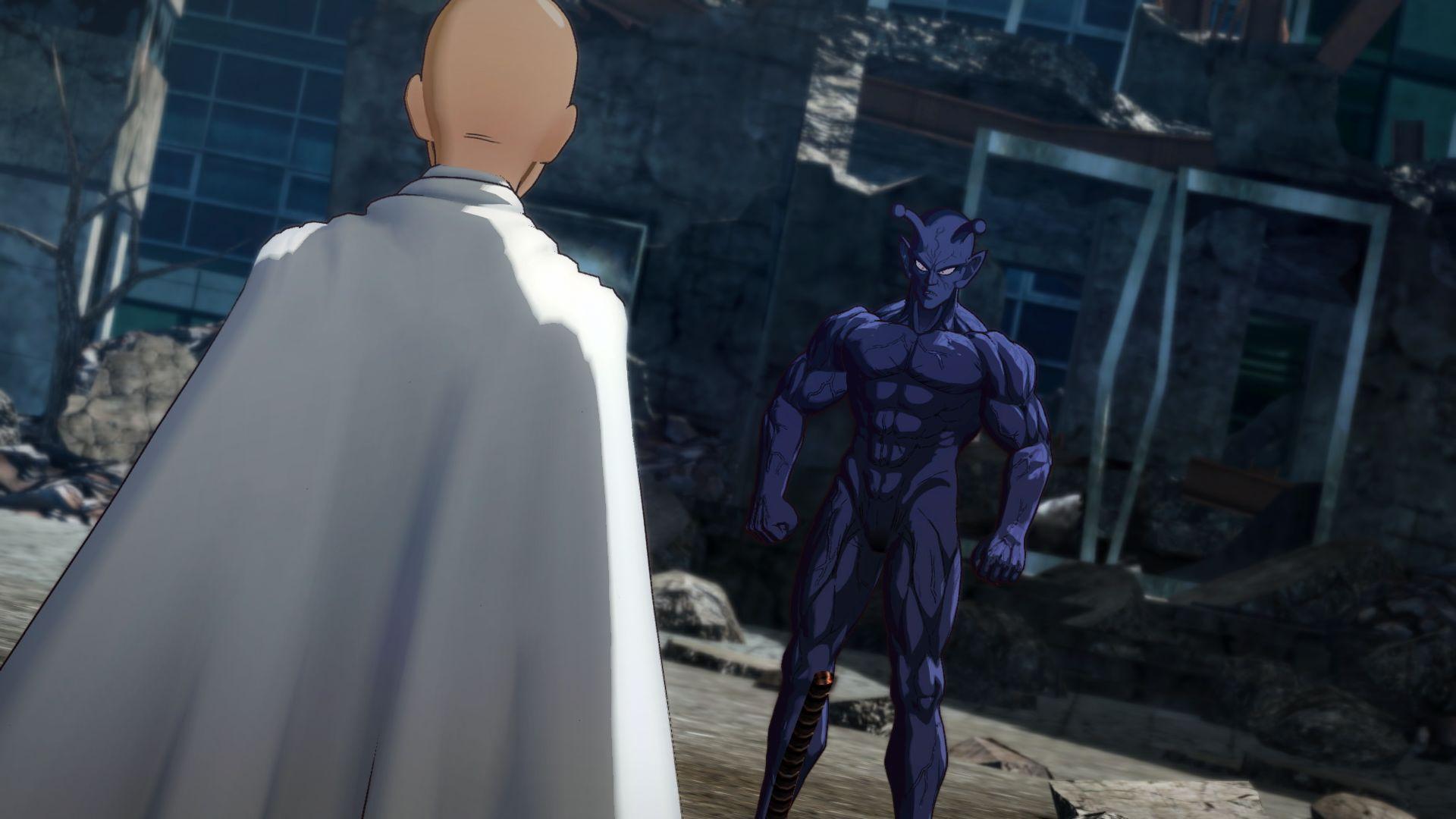 《一拳超人:无名英雄》新截图公布 一拳带你走