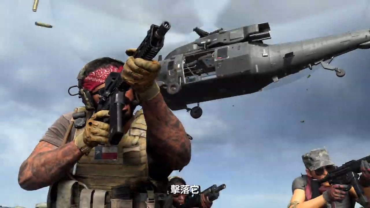 动视发布《使命召唤16:现代战争》特别行动模式预告