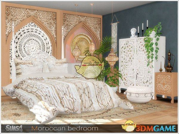 《模拟人生4》异域风格卧室家具MOD