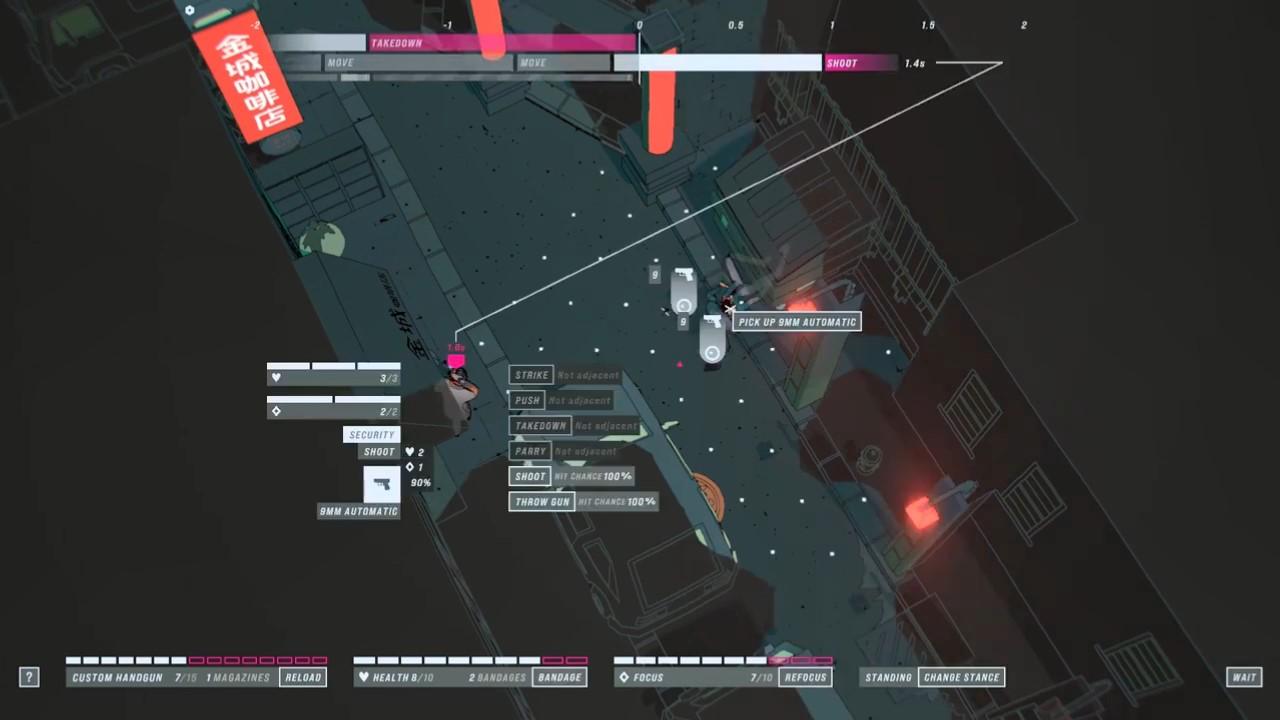 超精细战术策略游戏《疾速追杀Hex》前20分钟实机演示