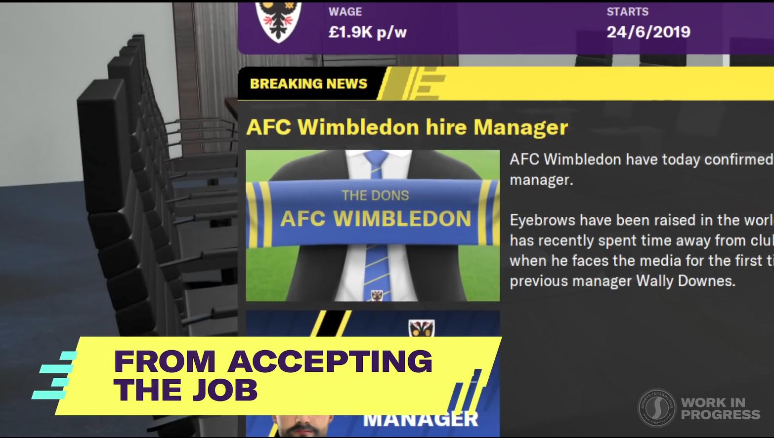 《足球经理2020》特色玩法宣传片 新功能全面介绍
