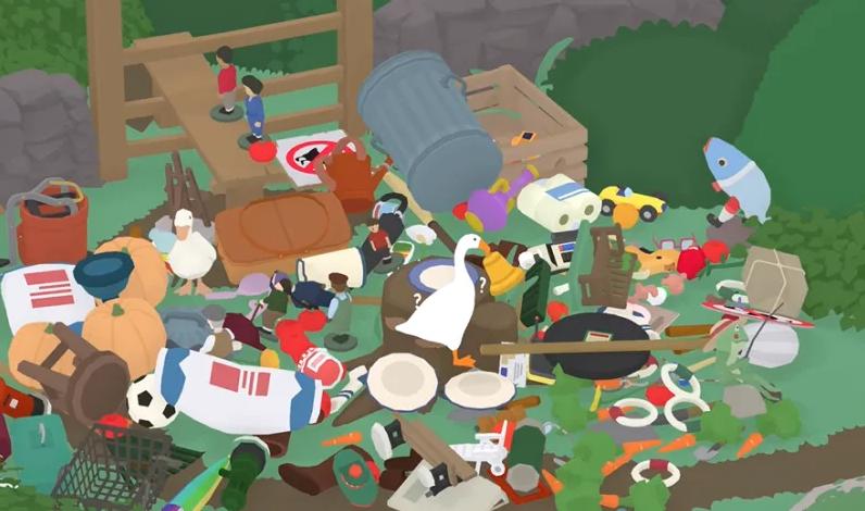 这只鹅霸会让你破产!《捣蛋鹅》玩家偷光NPC财物