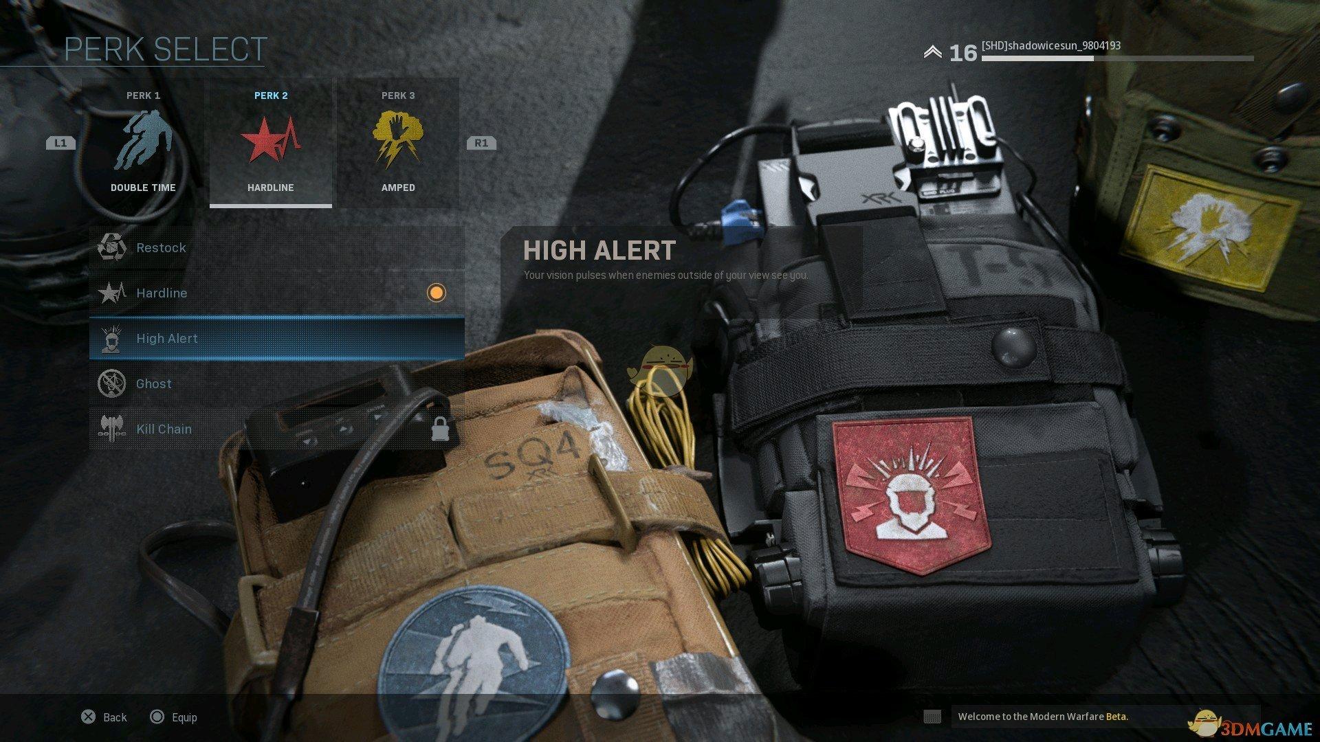 《使命召唤16:现代战争》高度警戒技能效果介绍
