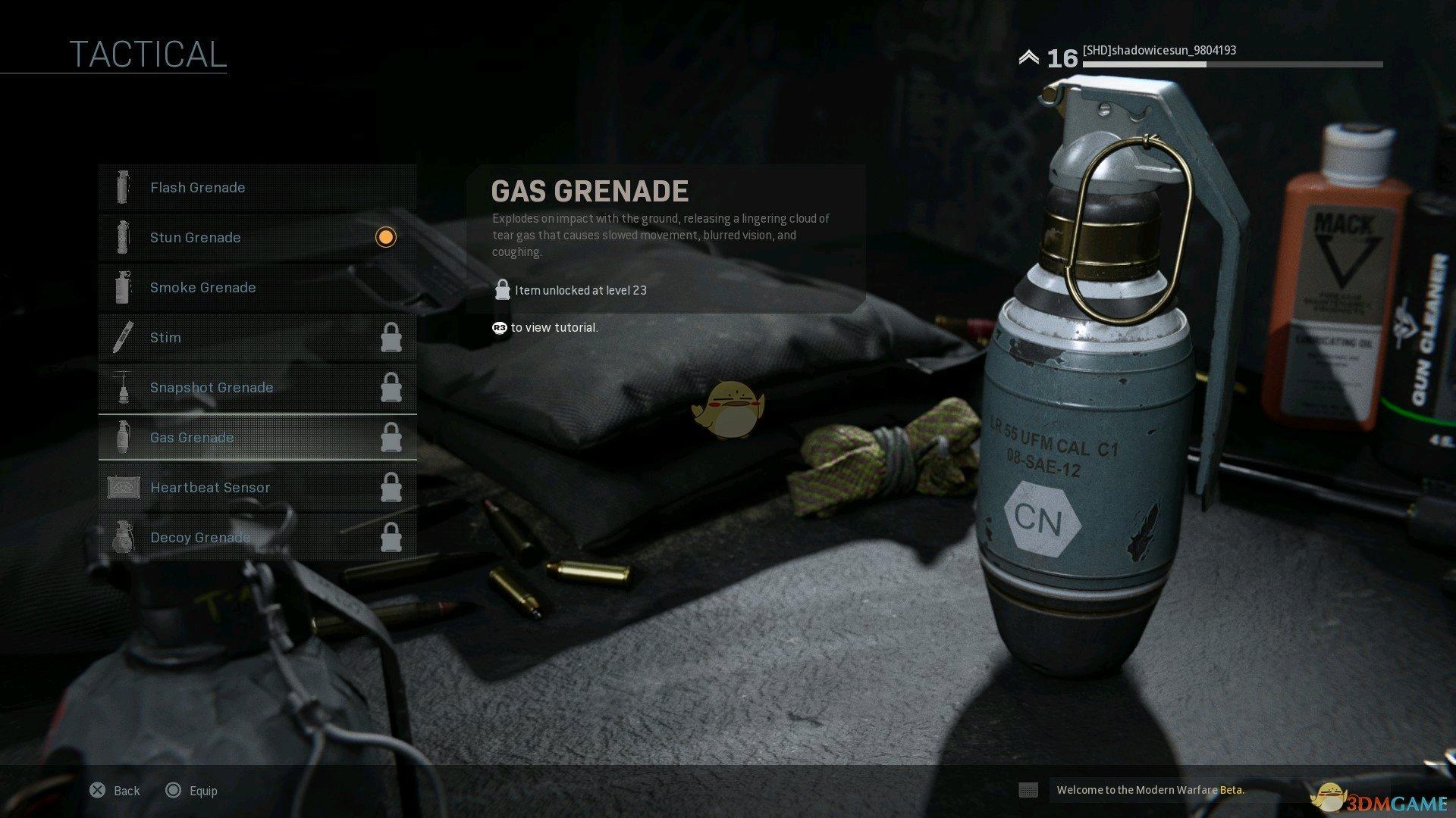 《使命召唤16:现代战争》全投掷物及装备外观一览