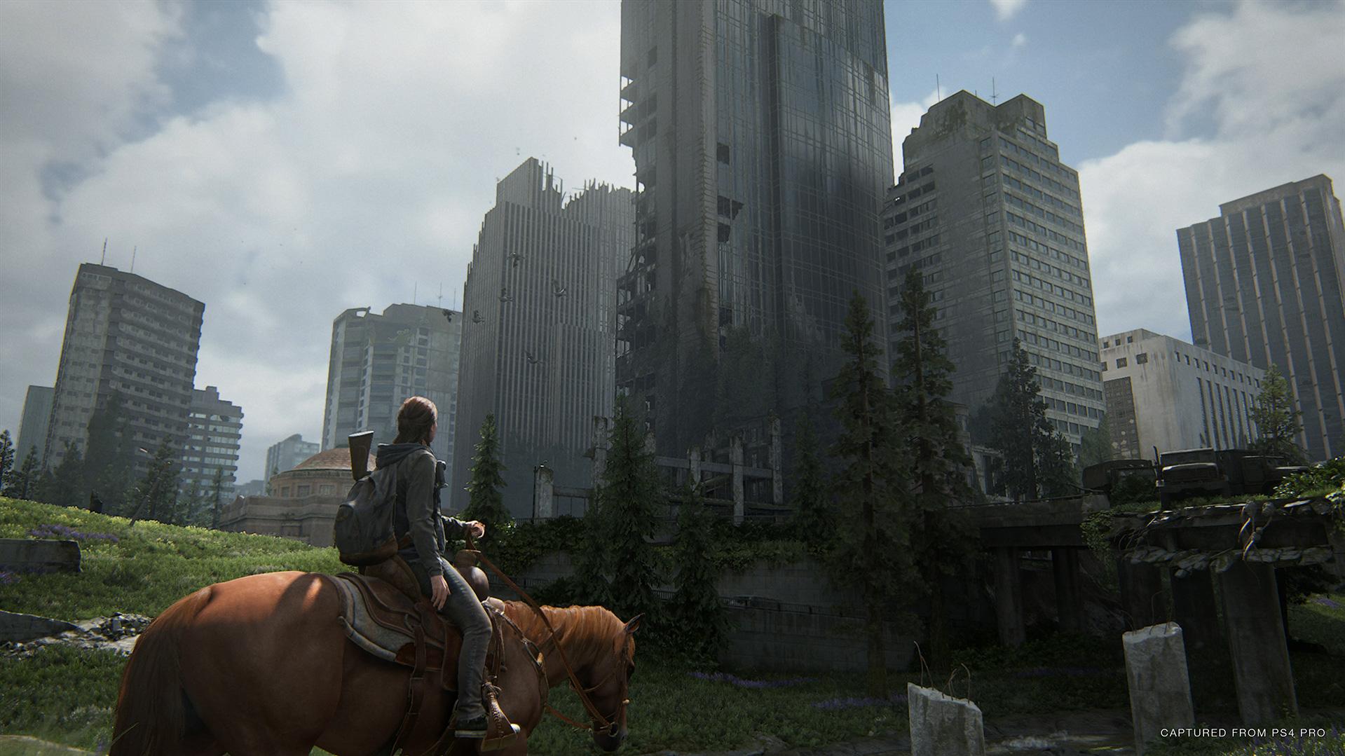 《最后的生还者2》达PS4机能极限 艾莉操控感极佳