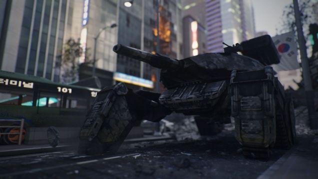 《使命召唤》大锤工作室谈音效取材 泰坦本体竟然是台垃圾车!