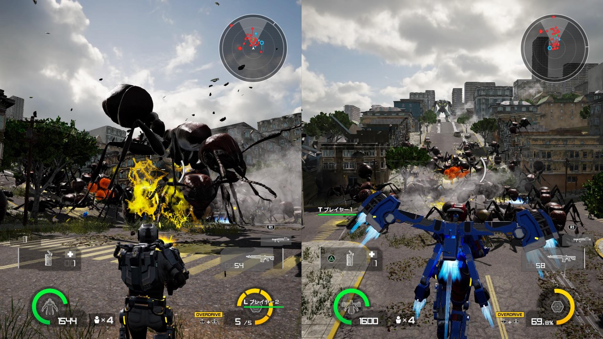 《地球防卫军:铁雨》上架Steam PC版10月15日发售