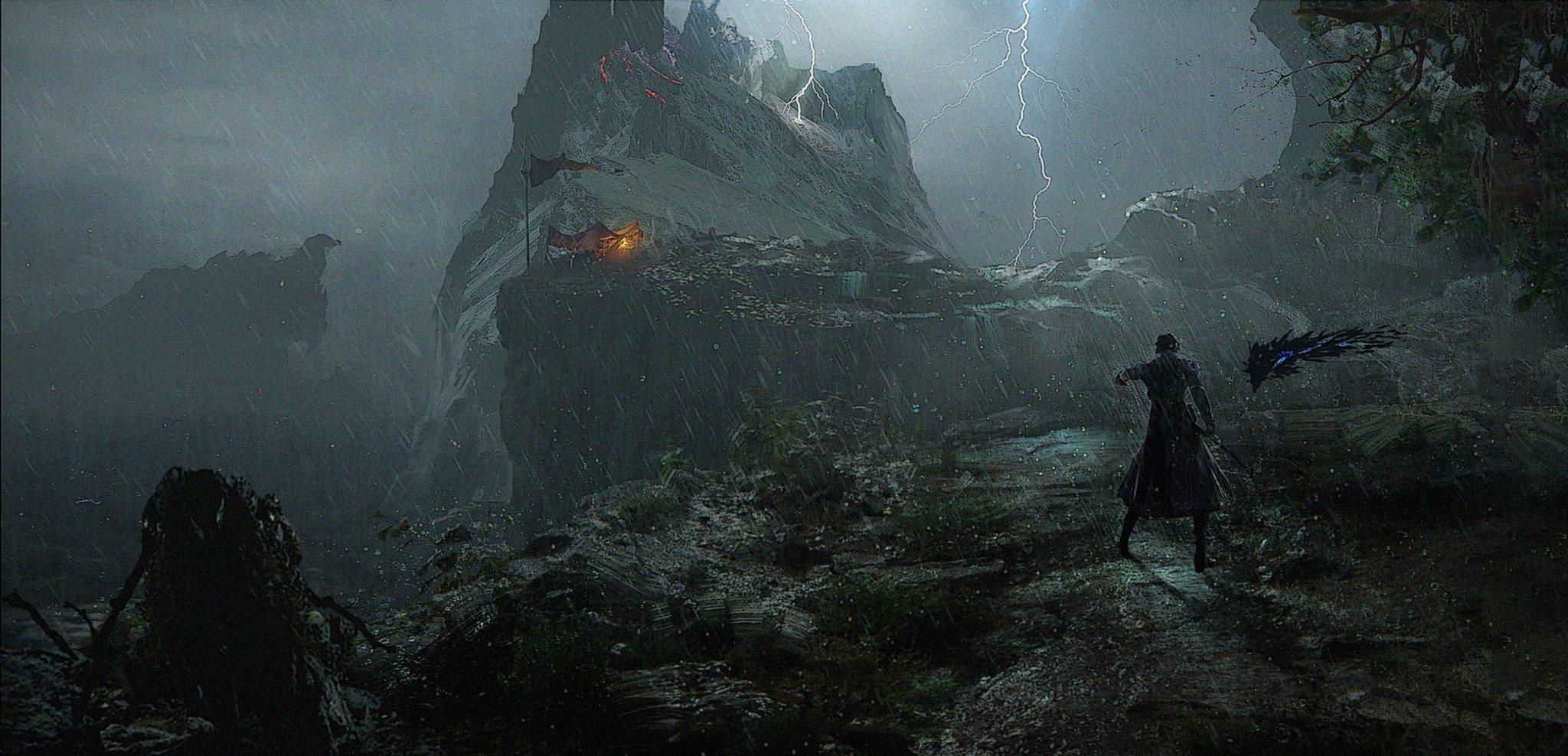 国产ARPG《失落之魂》分享新概念图 未来登陆PS4