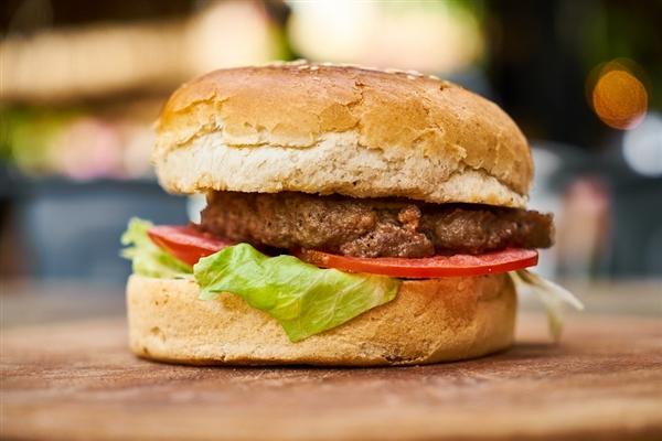 国内首款人造肉饼亮相:营养价值高 售价118元4片