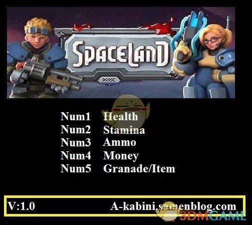 《太空大陆》v1.0五项修改器[Abolfazl]