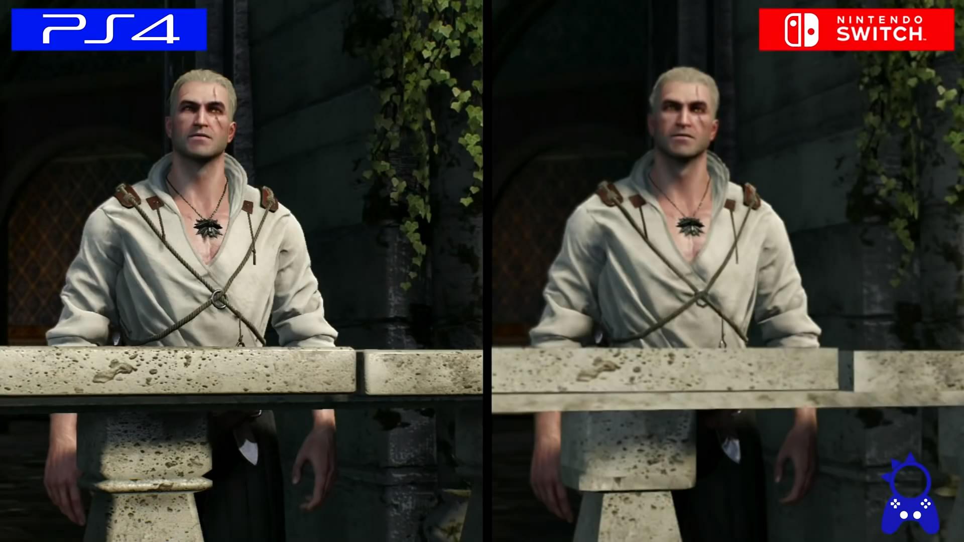 <b>《巫师3》NS版与PS4版画面对比 运行流畅帧数稳定</b>