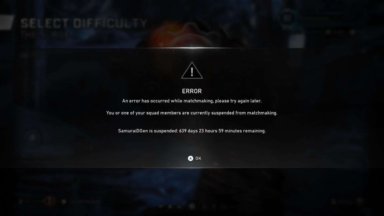 突遭重罚!《战争机器5》一玩家因屡次早退被封两年