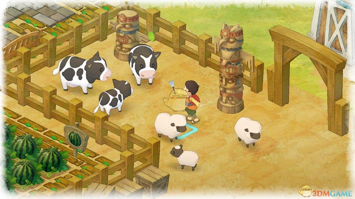 《哆啦A夢:大雄的牧場物語》刷子獲得方法分享