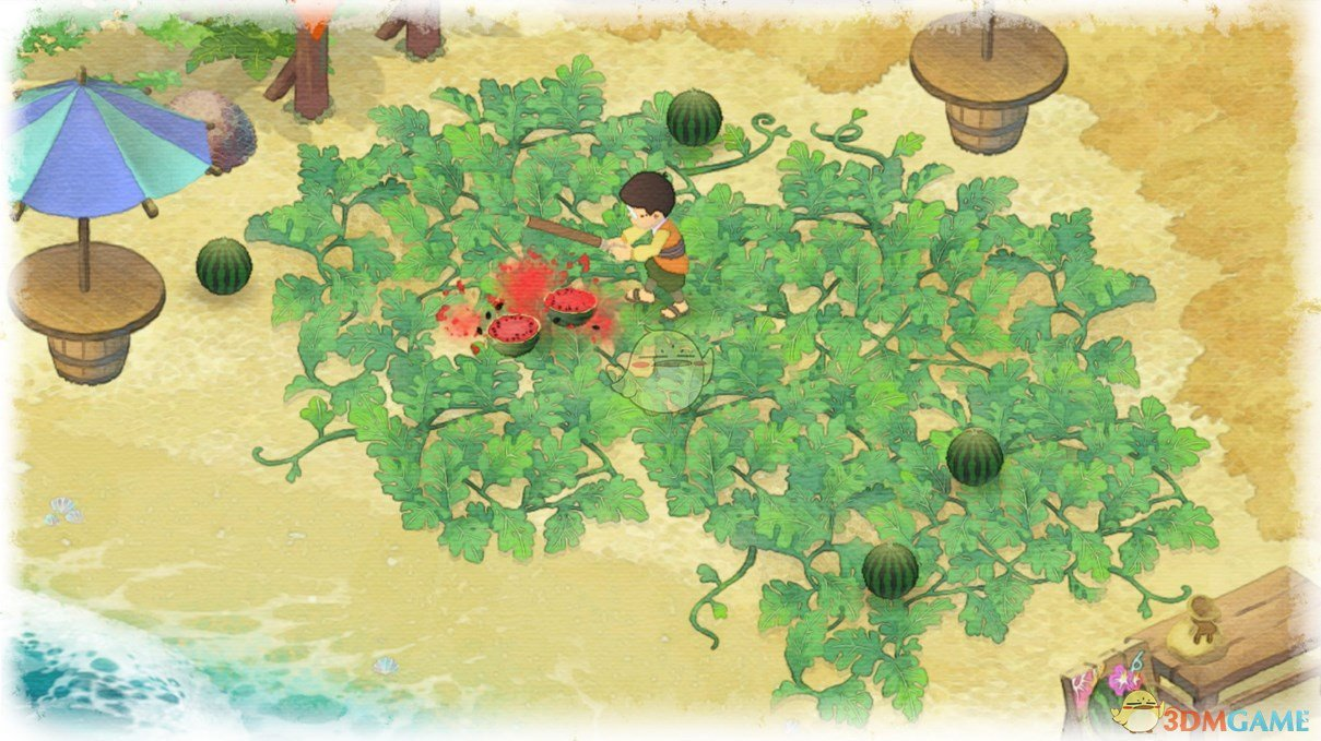 《哆啦A梦:大雄的牧场物语》送礼物给兰奇任务攻略