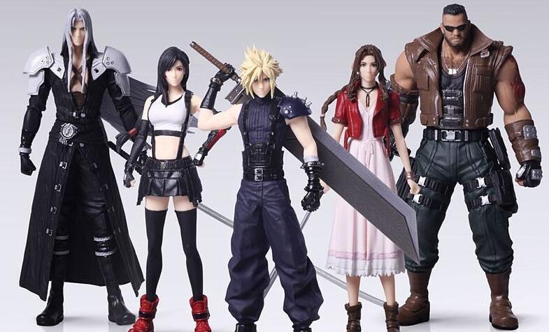 《最终幻想7:重制版》角色手办欣赏 蒂法艾瑞丝真美