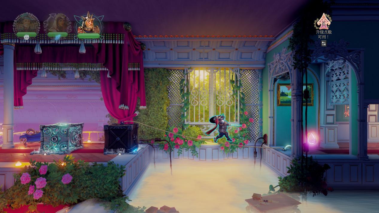 《三位一体4:梦魇王子》评测:顺水行舟的解密游戏