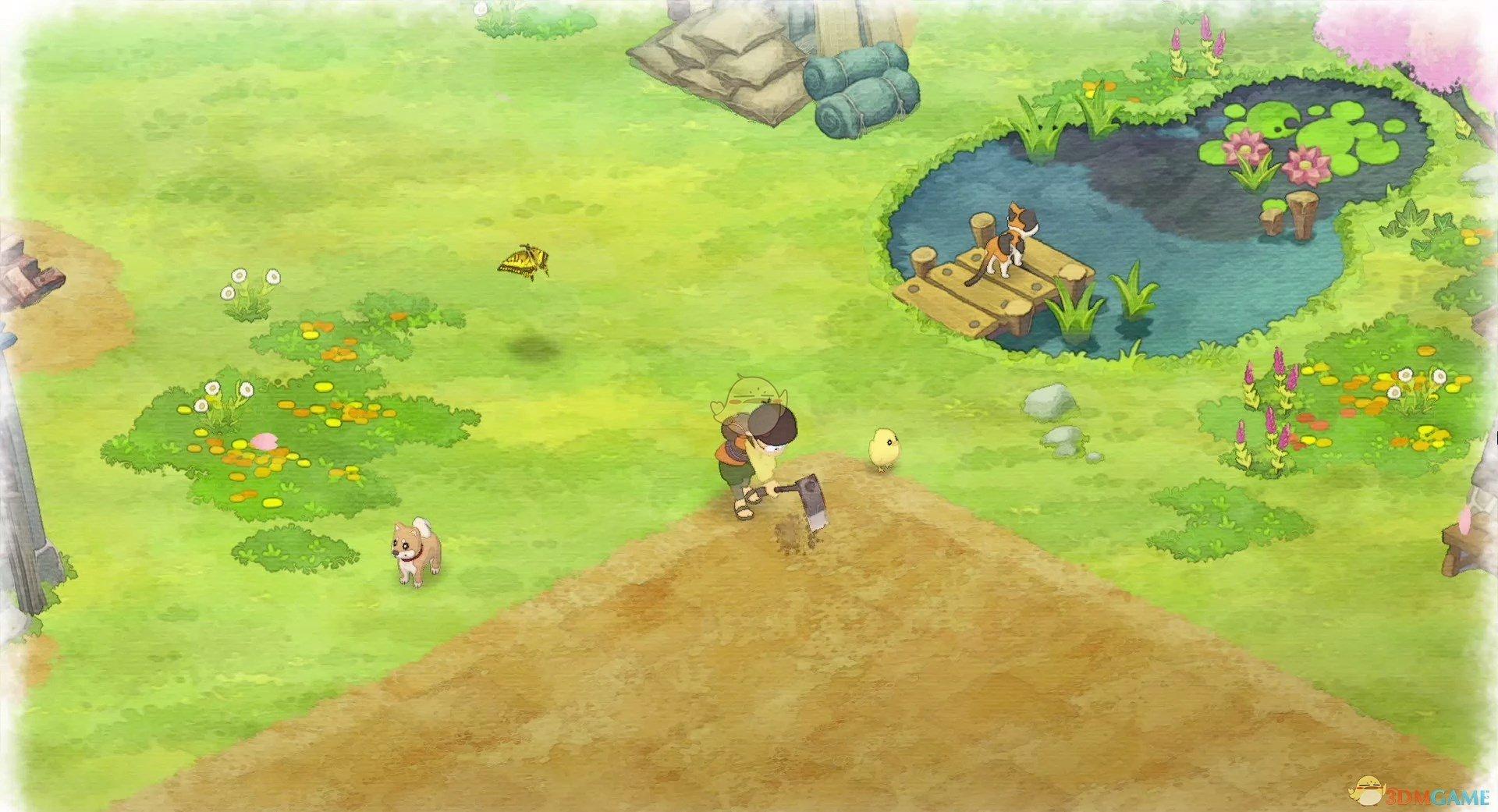 《哆啦A梦:大雄的牧场物语》小精灵剧情触发方法分享