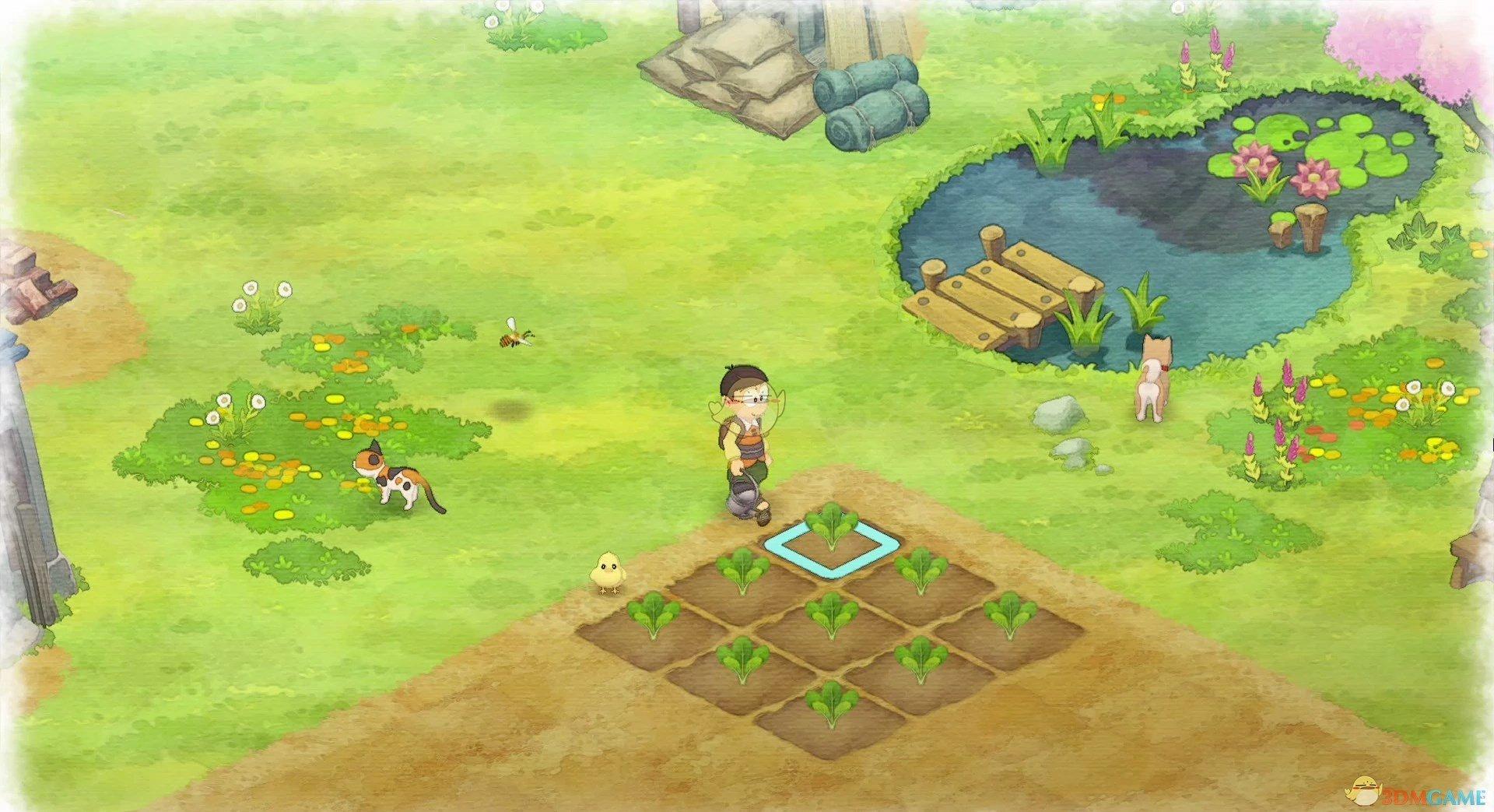 《哆啦A梦:大雄的牧场物语》快速撒种子能力获得方法分享