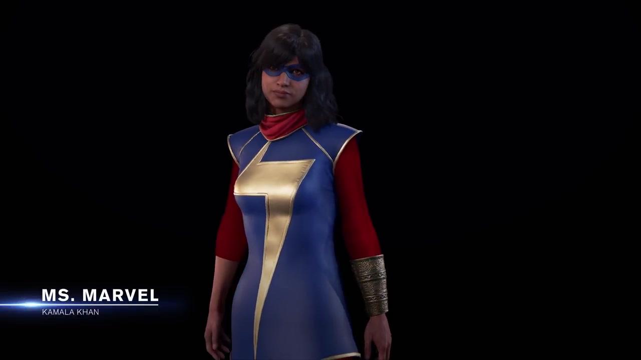 《漫威复仇者联盟》新视频展示卡玛拉