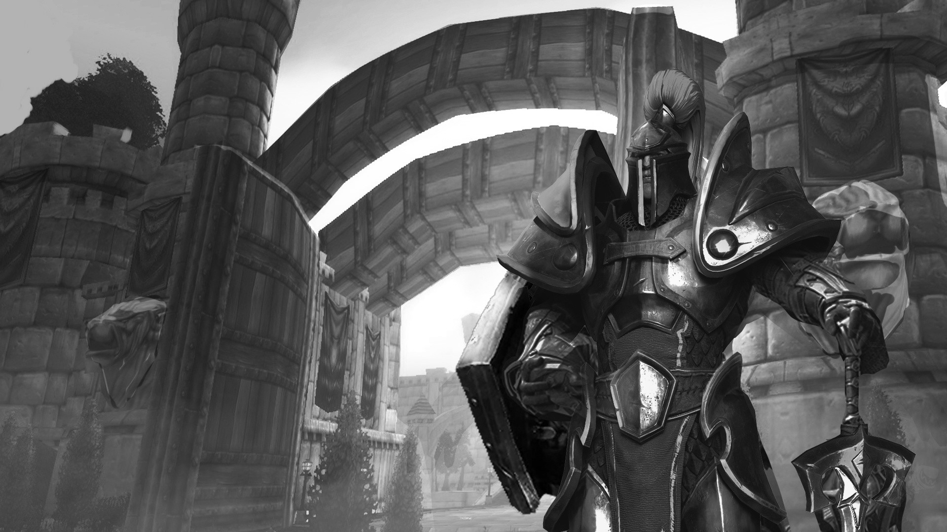 《魔兽争霸3重制版》B测首曝截图 大量界面背景公布