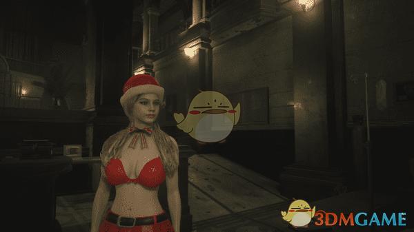 《生化危机2:重制版》克莱尔性感圣诞女郎服装MOD