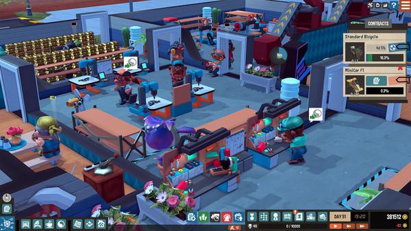 经营模拟游戏《小小大工坊》上架Steam 即将发售