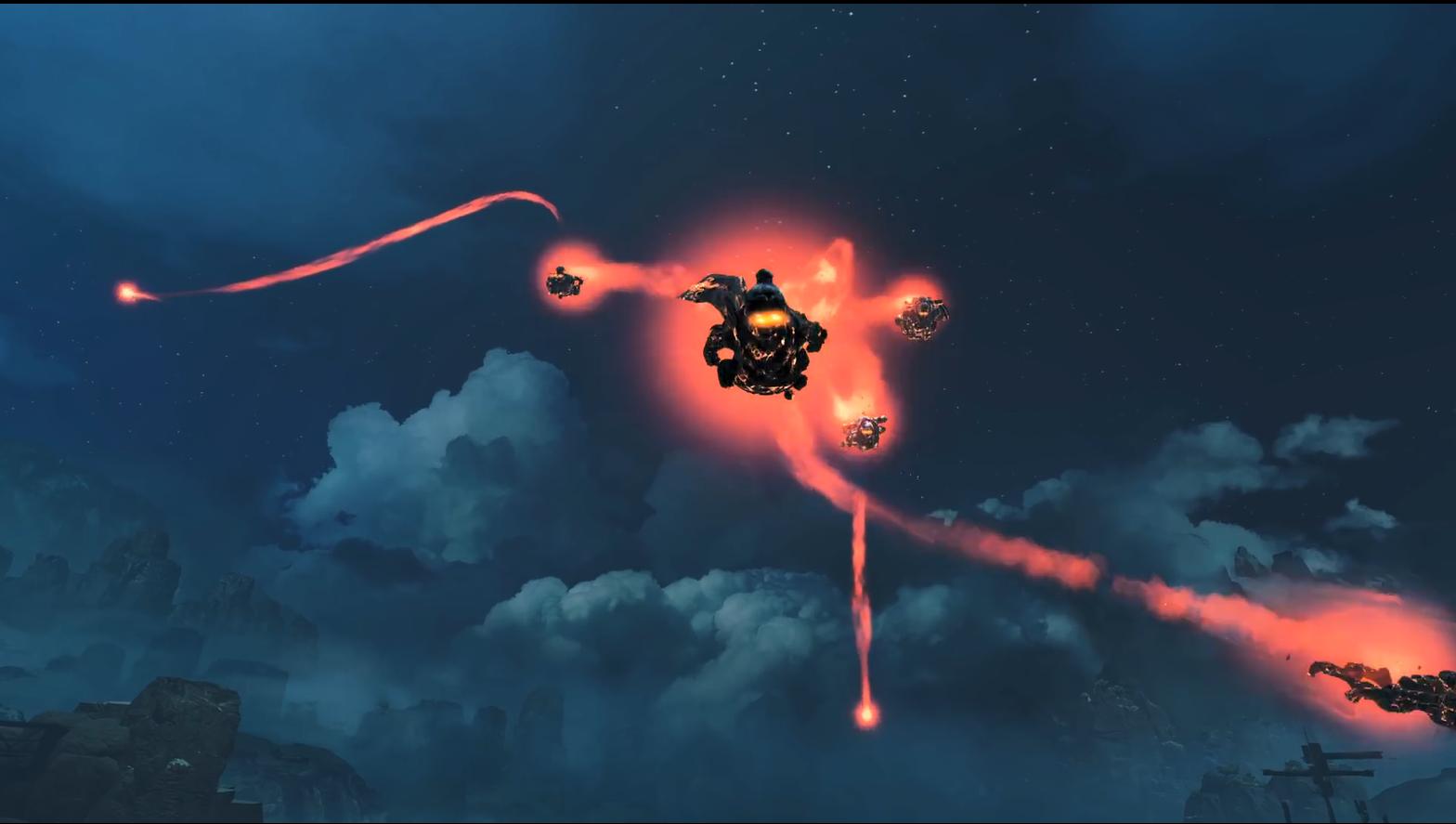 中文《Apex英雄》万圣节活动宣传片 亡灵来袭逃出黑夜!