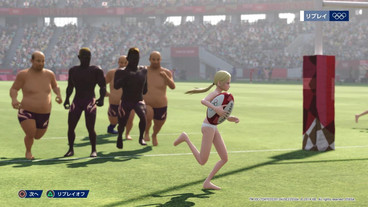 《2020东京奥运》竟有泳装萝莉Vs.大叔 一秒变神作