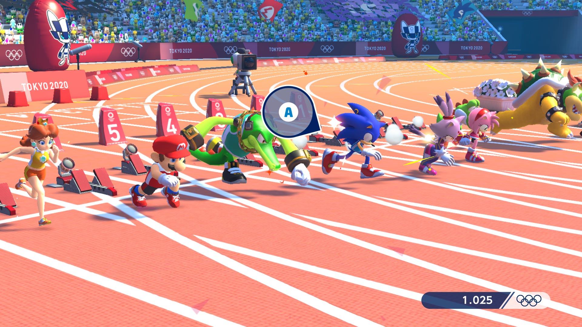 《马里奥和索尼克的东京奥运会》体验版上线 7个体育项目马上玩