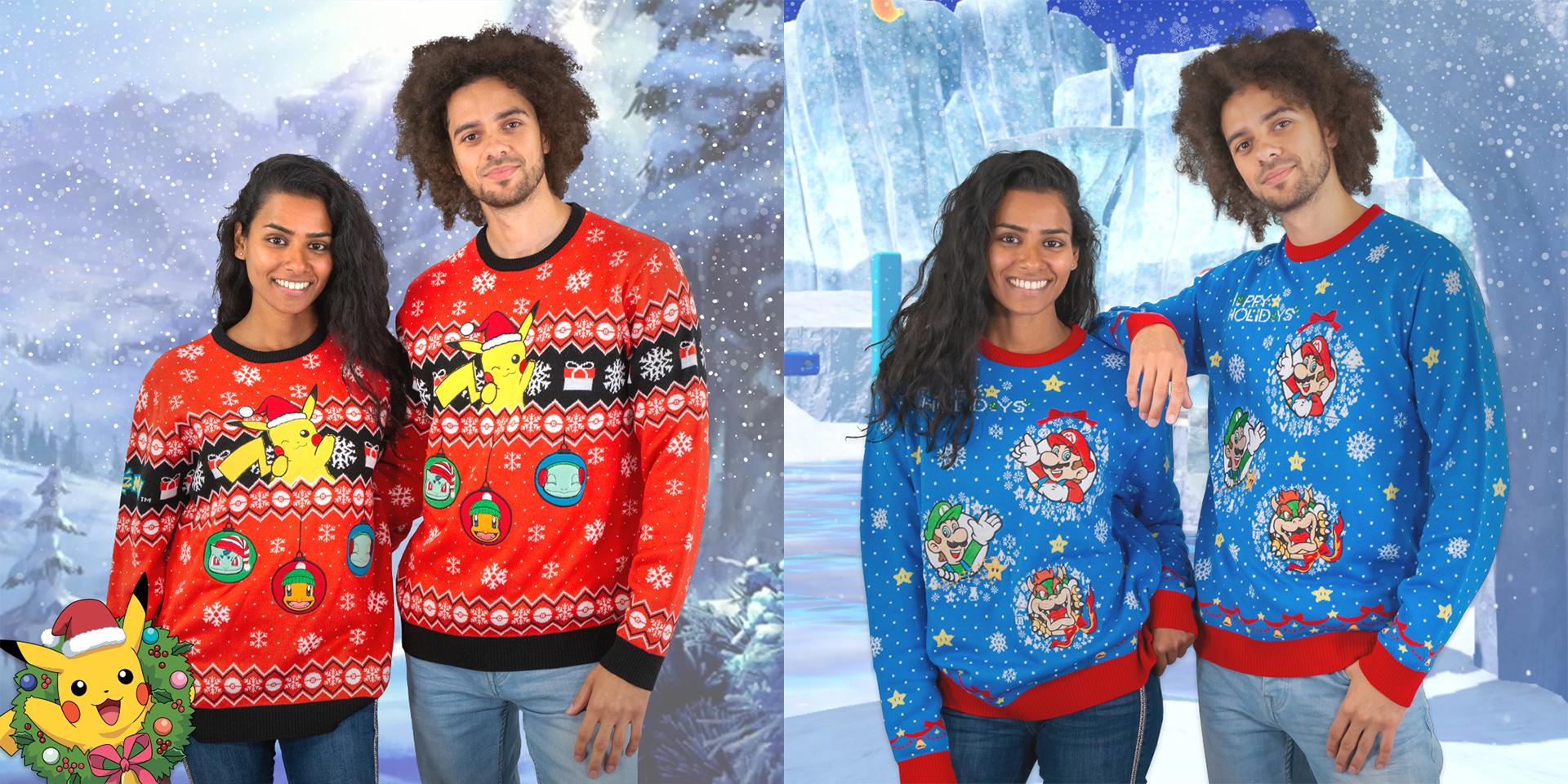 任天堂推出三款圣诞节主题毛衣 约合人民币358元