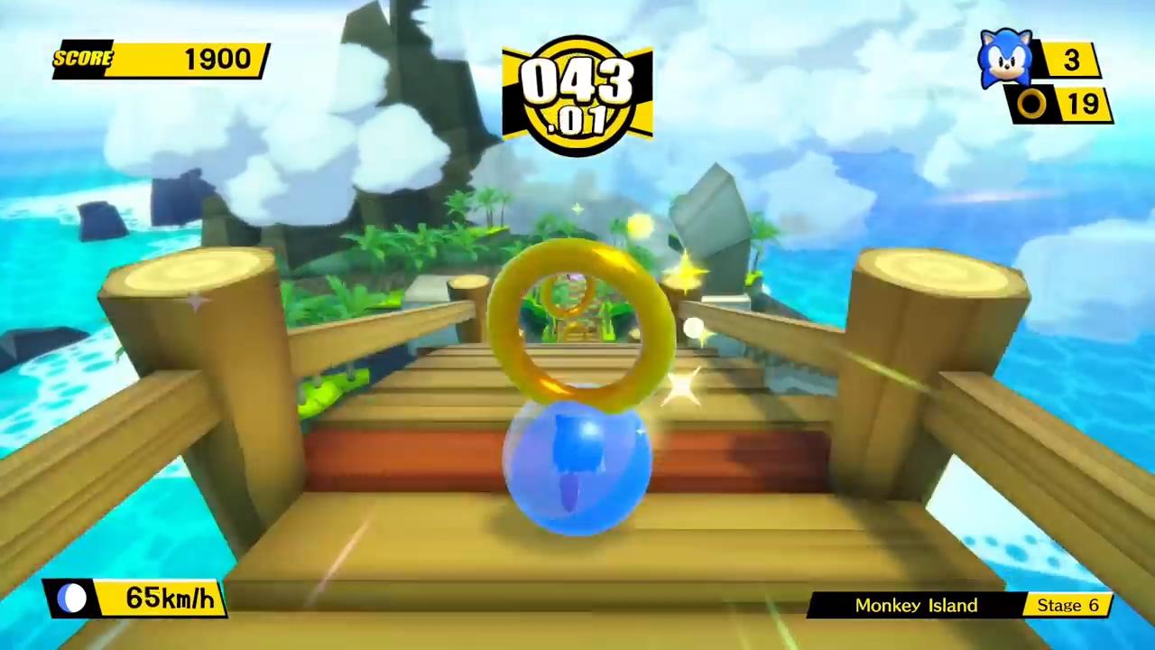 世嘉两大招牌联手!索尼克联动超级猴子球