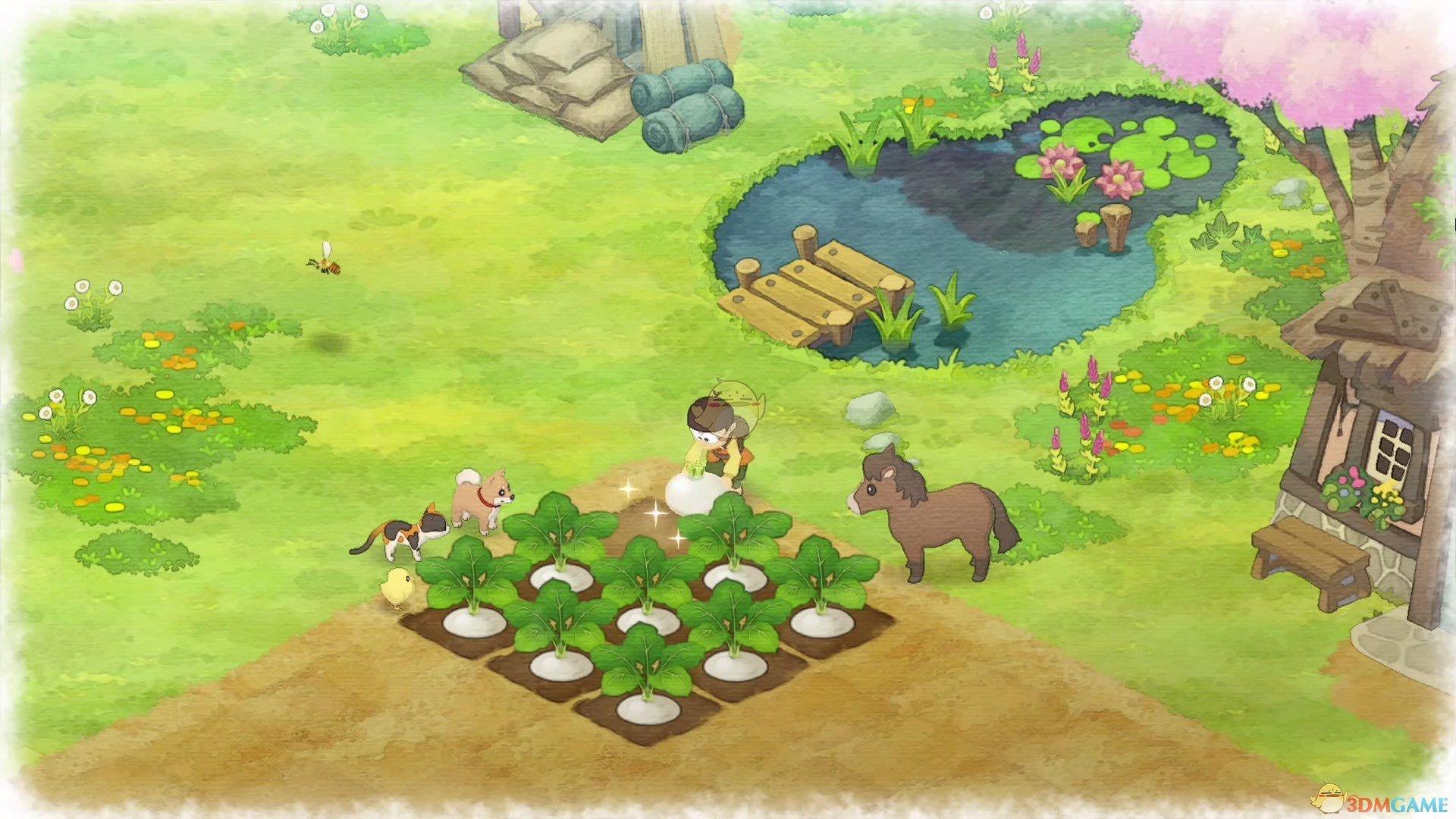 《哆啦A梦:大雄的牧场物语》寻人棒作用介绍