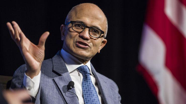 微軟給CEO納德拉年薪曝光!引領復興加薪66%