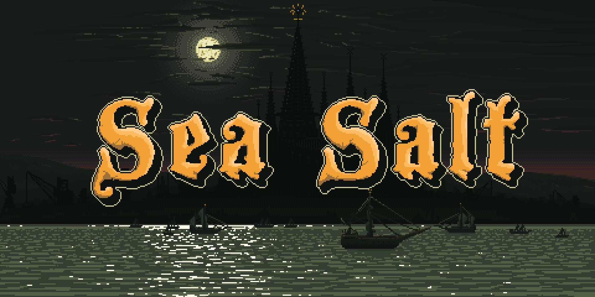 《Sea Salt》:充斥血腥暴力的像素游戏,演绎反英雄式的克苏鲁神话