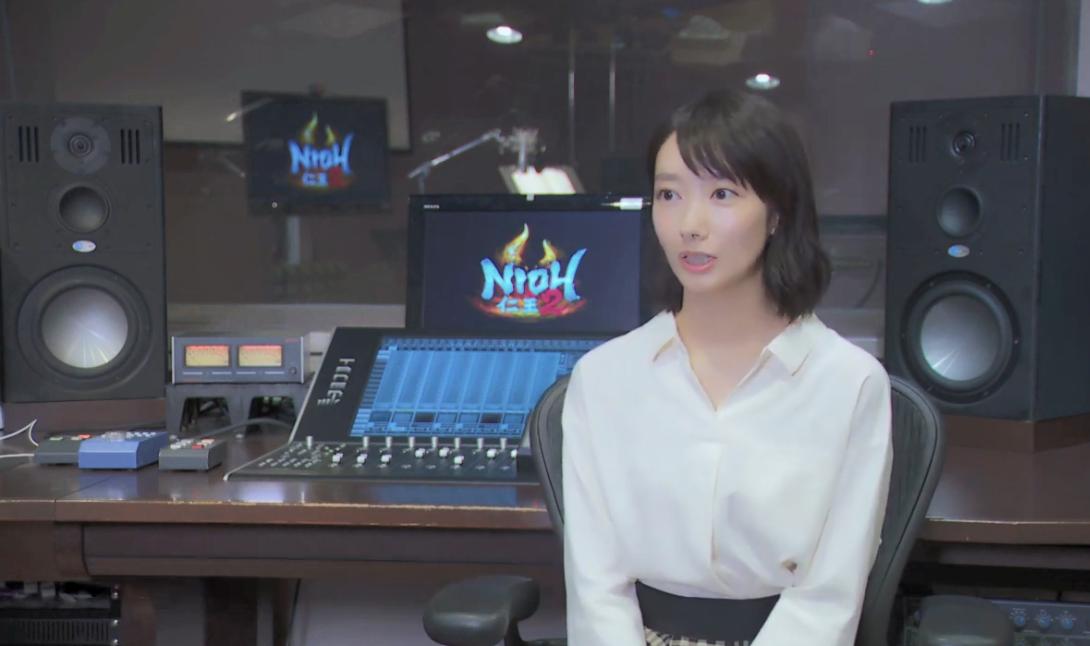 清新美女偶像波首度挑战声优  《仁王2》 女主无明配音特辑