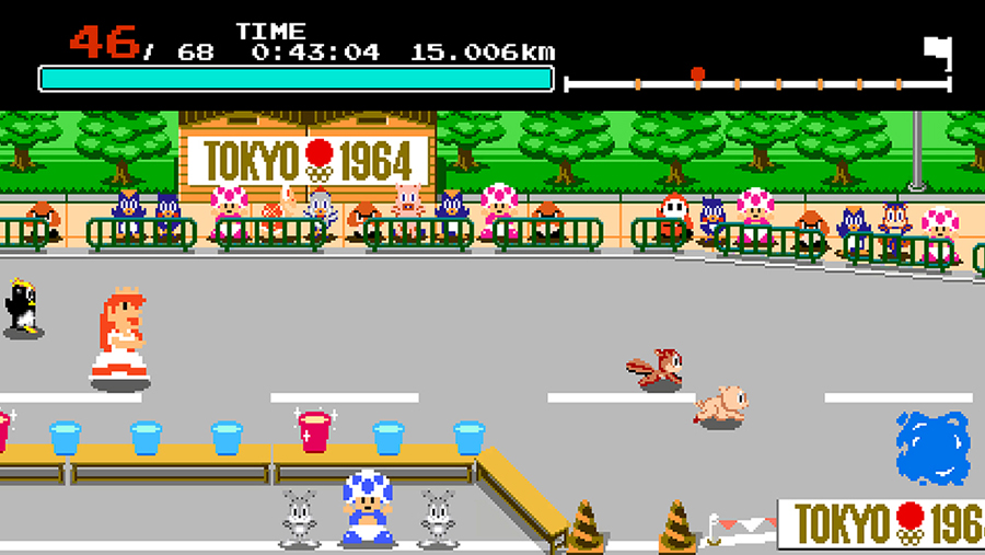 《马里欧和索尼克的东京奥运会》多个「东京1964年项目」公开