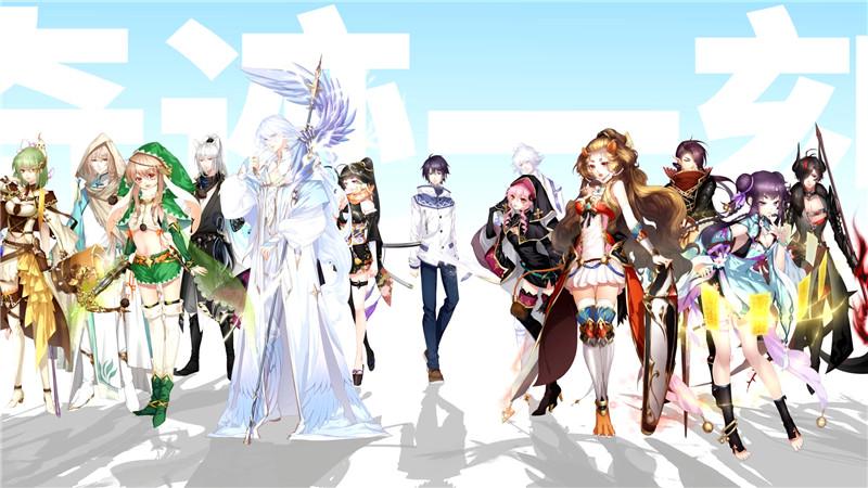国产电竞养成游戏《奇迹一刻》新PV 18名角色可攻略