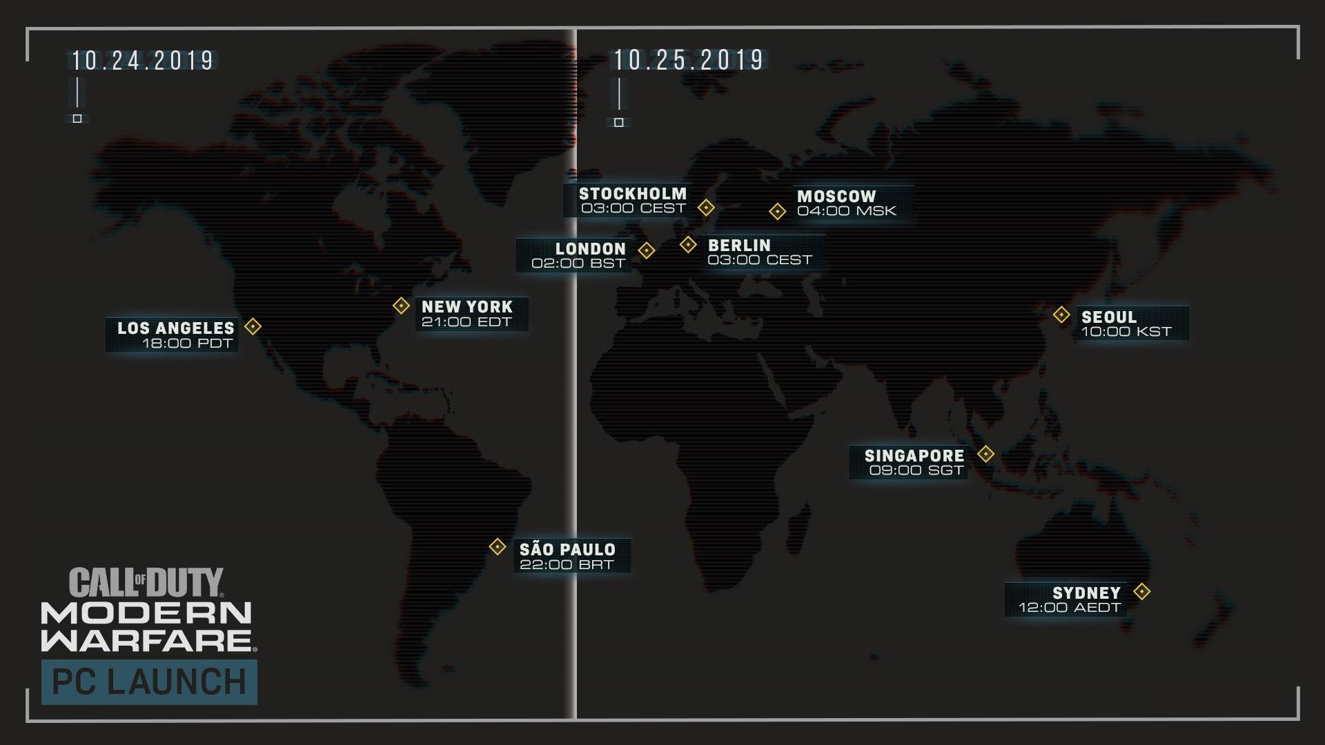 准备开冲 《使命召唤:现代战争》25日解锁时间公布!