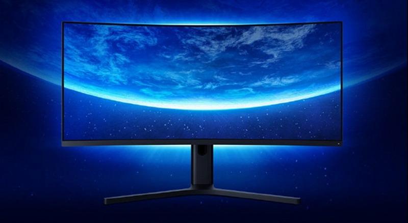 小米曲面显示器34英寸开启预售 144Hz 2K带鱼屏