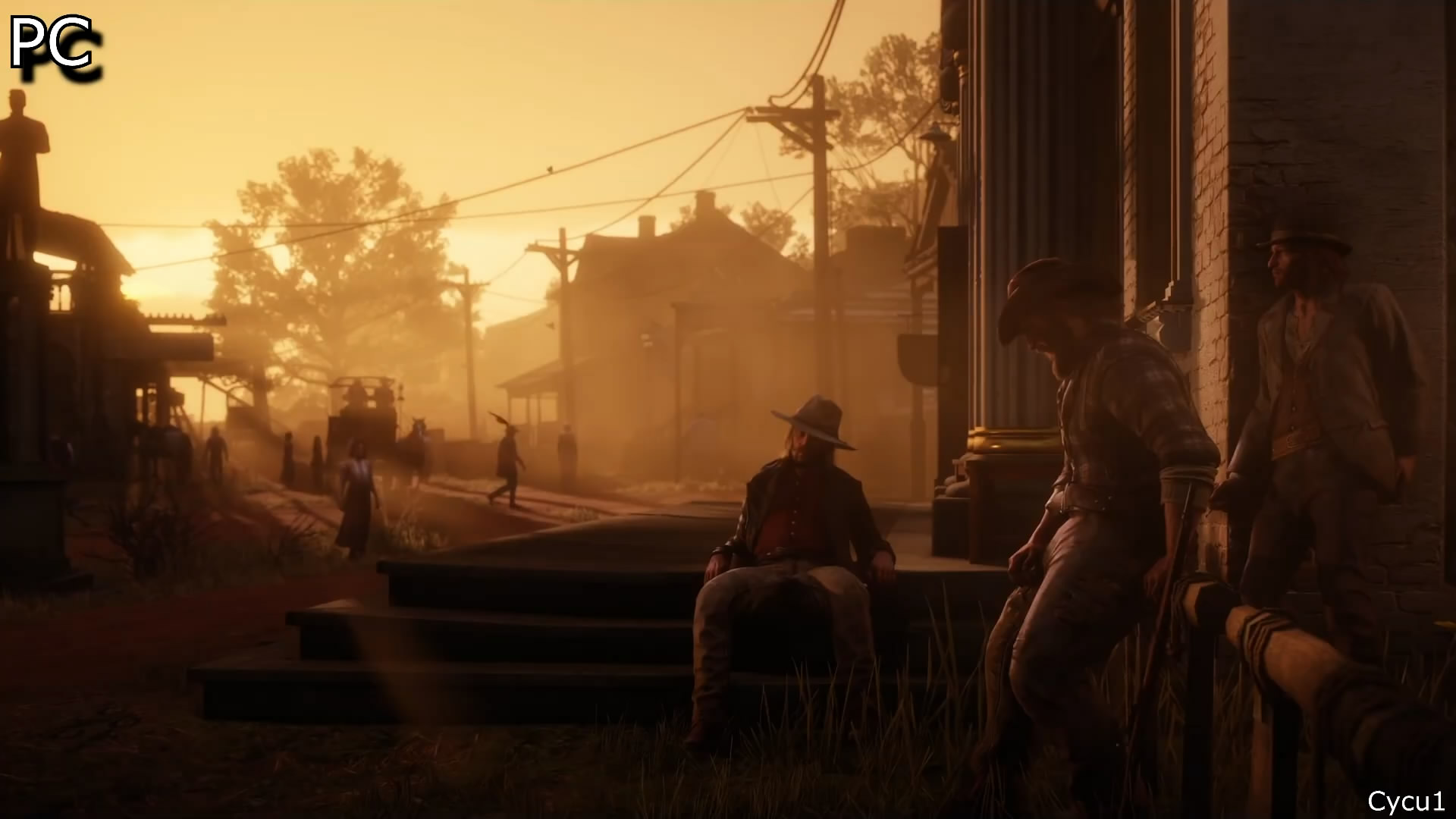 《荒野大镖客2》PC预告与主机版场景对比 画面更美