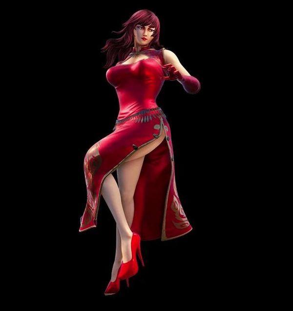 《莎木3》蚩尤门四天王唯一女性亮相 妖艳女朱雀鸟隼