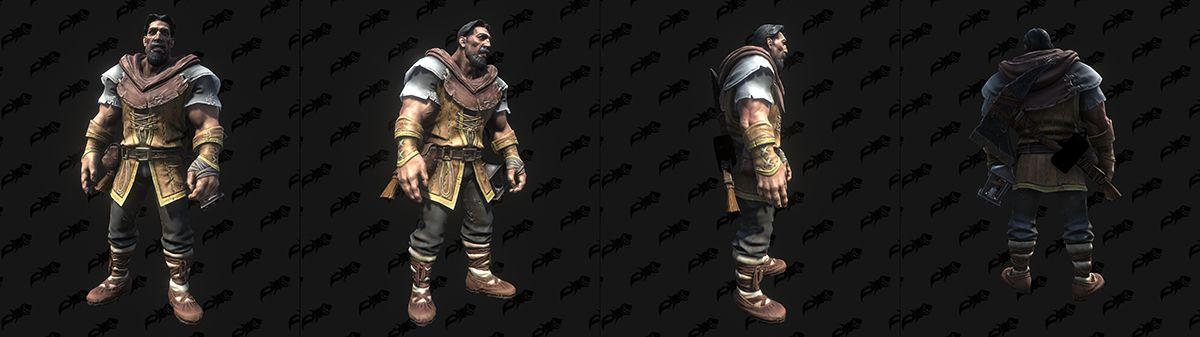 《魔兽争霸3:重制版》新角色模型 巫妖王霸气归来