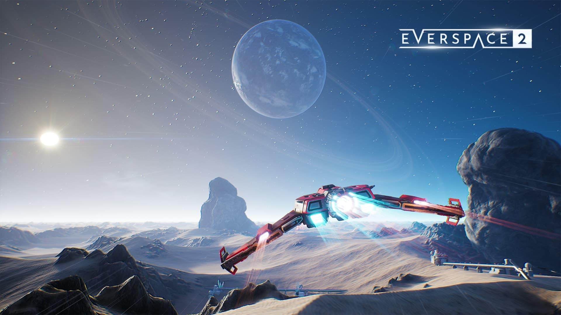 《永恒空间2》主机版可达4K分辨率 1080P有增强效果