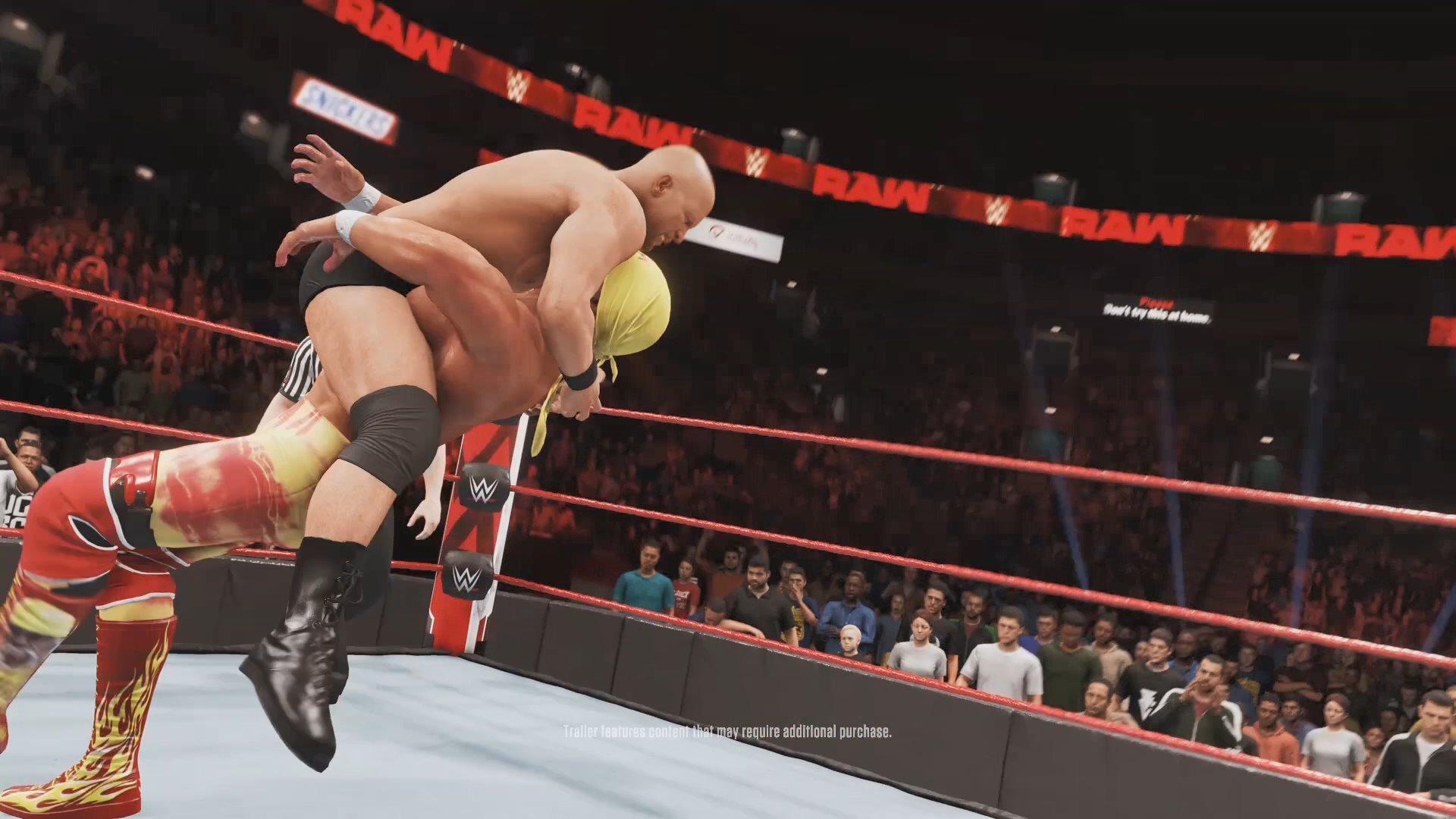 《WWE 2K20》今日全球正式发售 真人预告片公开