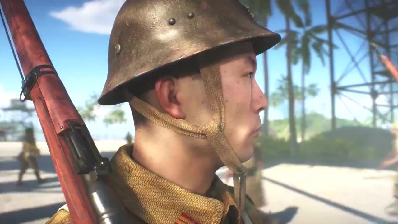 《战地5》太平洋战场新预热视频 展示日本士兵
