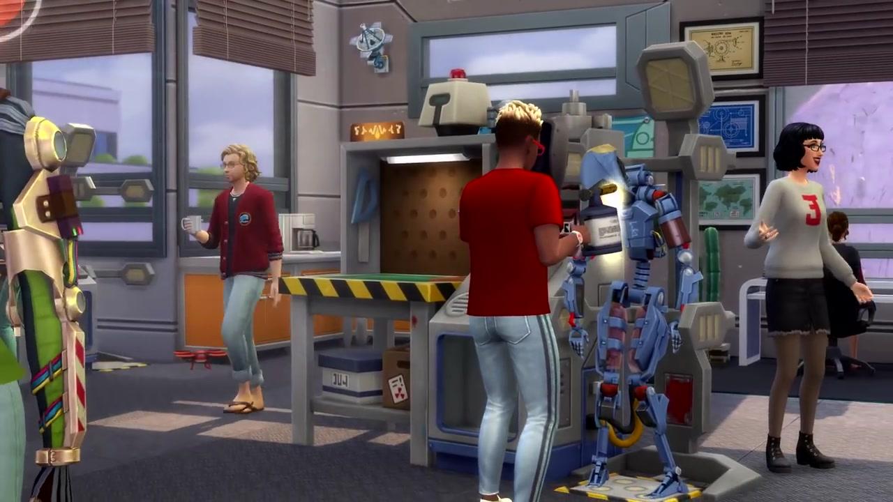 """《模拟人生4》最新DLC""""玩转大学""""预告片公布"""