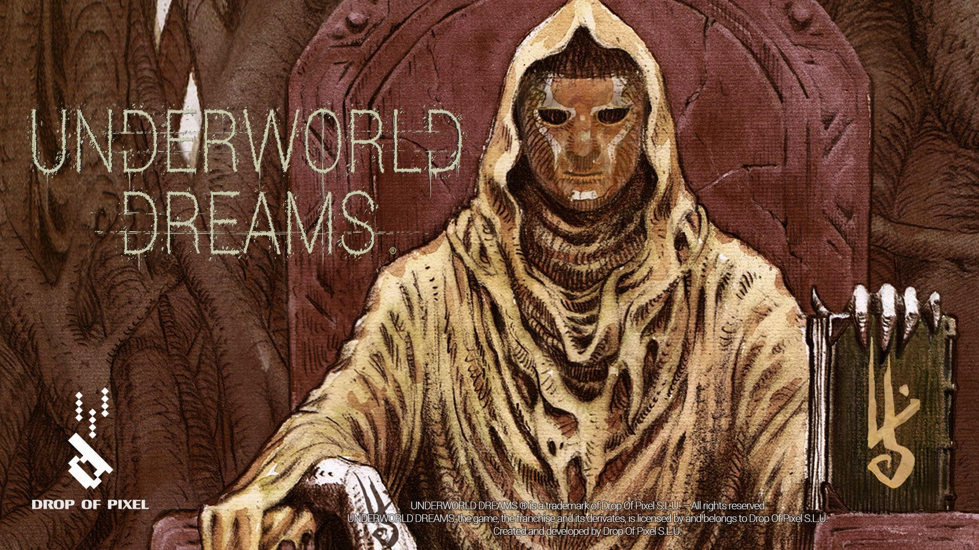 恐怖冒险游戏《地底幻梦》公布 阴森黑暗让人颤抖