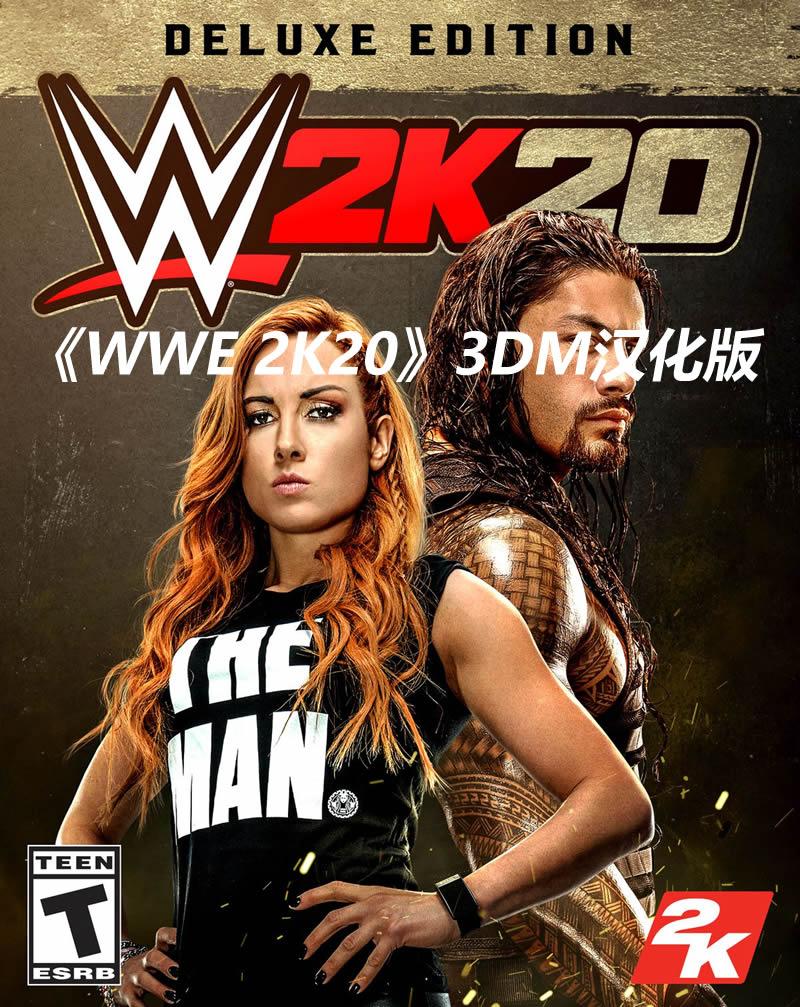 3DM漢化組制作 《WWE 2K20》嘗鮮版漢化補丁發布