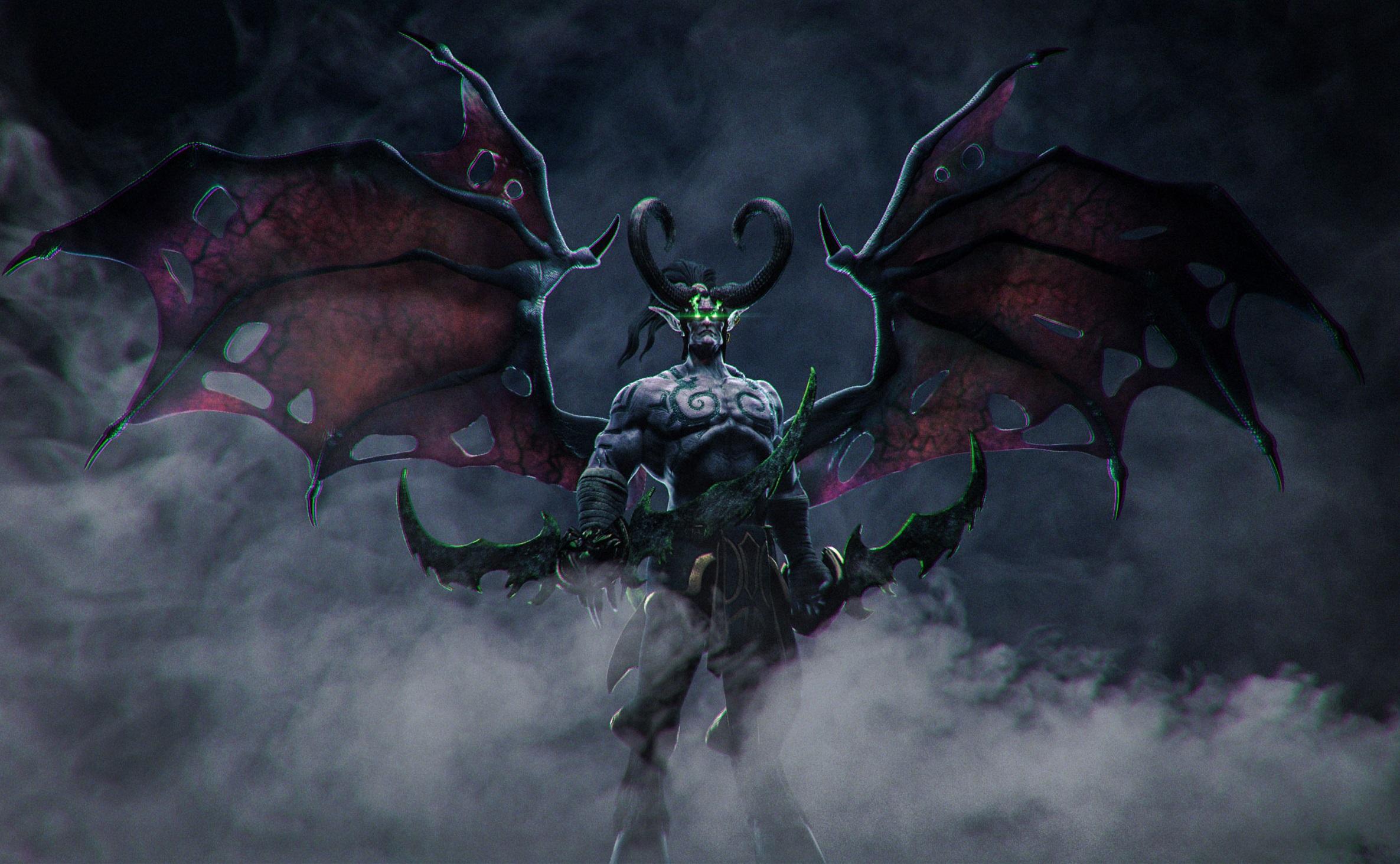 被囚禁一万年的愤怒 《魔兽争霸3:重制版》伊利丹亮相